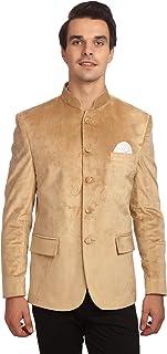 WINTAGE Men's Velvet Grandad Nehru Blazer Coat Jacket- Six Colors
