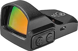 TRUGLO TRU-TEC Micro Red Dot Sight Open Reflex Optic for Rifles, Shotguns and Pistols, Green Dot, Picatinny Mount