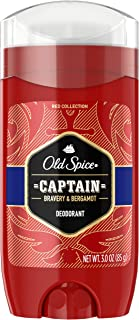 Old Spice Red Collection Deodorant for Men, Captain, 90ml