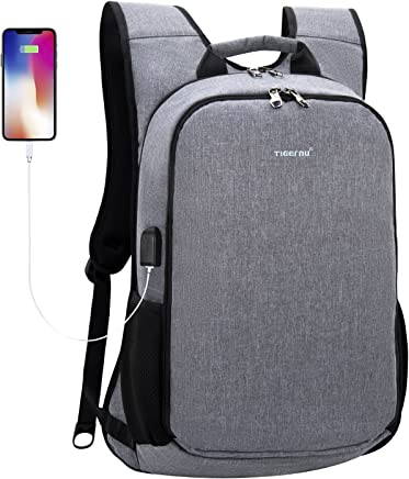 bef413b360 TIGERNU Laptop Backpack for 15.6 17 Inch Laptops Notebook with Shockproof  Pad XL Extra Large Big