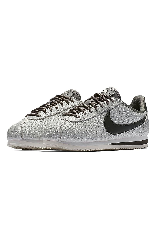 コマンドにぎやか加入ナイキ シューズ スニーカー Nike Classic Cortez SE Sneaker (Women) Pewter/ Pe [並行輸入品]