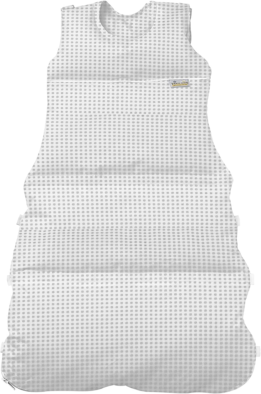 Climarelle Daunenschlafsack, Daunenschlafsack, Daunenschlafsack, längenverstellbar, Alterskl. ca 3-20 Monate, Vichy Karo grau, 80 cm B005M2O8ZY 1dd49e
