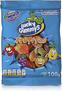 Frutitas Lucky Gummys 100 g (Caja con 12 piezas)