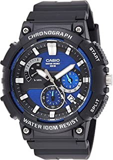 Casio Rubber Black Rubber Casual Watch For Men - MCW-200H-2AVDF