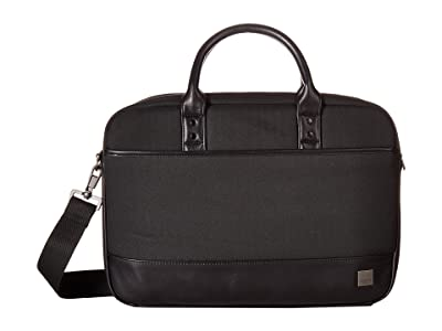 KNOMO London Holborn Princeton Laptop Brief (Black) Briefcase Bags