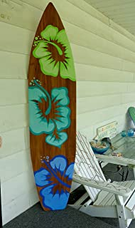 Best unfinished surfboard wall decor Reviews