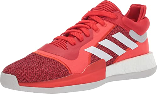 Adidas Men's Marquee Boost Low, Active rouge blanc Scarlet 10 M US
