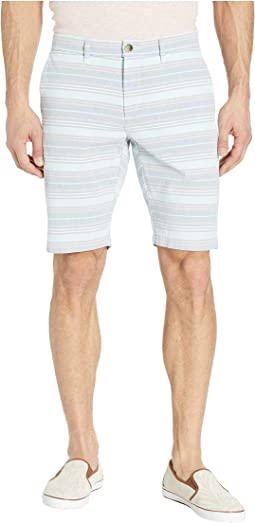 Multi Horizontal Stripe Shorts