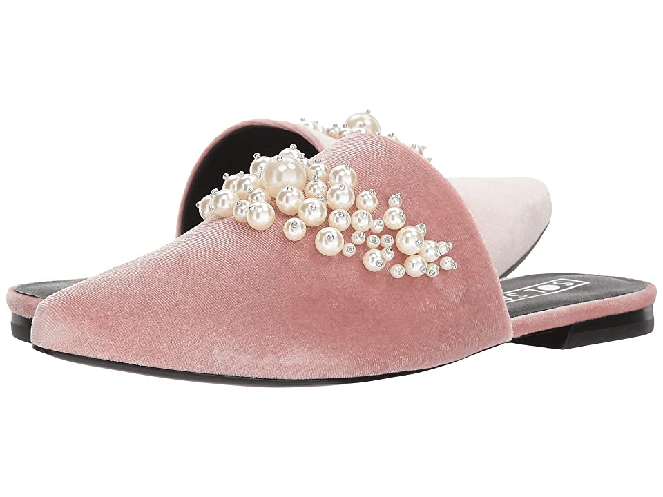 Sol Sana Grace Slide (Dusty Rose Velvet Pearl) Women