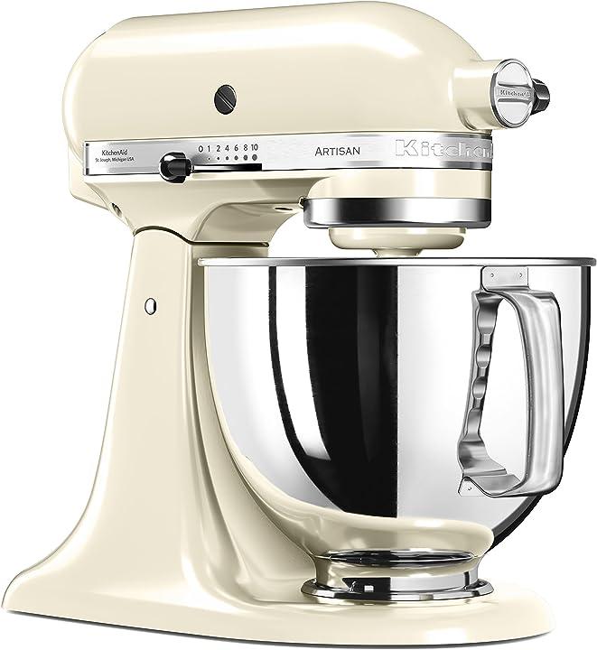 Kitchenaid 5ksm125 robot da cucina artisan da 4,8 l 144280
