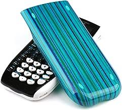 Guerrilla Hard Slide Case-Cover for TI-84 Plus, TI 84-Plus C Silver Edition, TI-89 Titanium Graphing Calculator, Blue Stripe