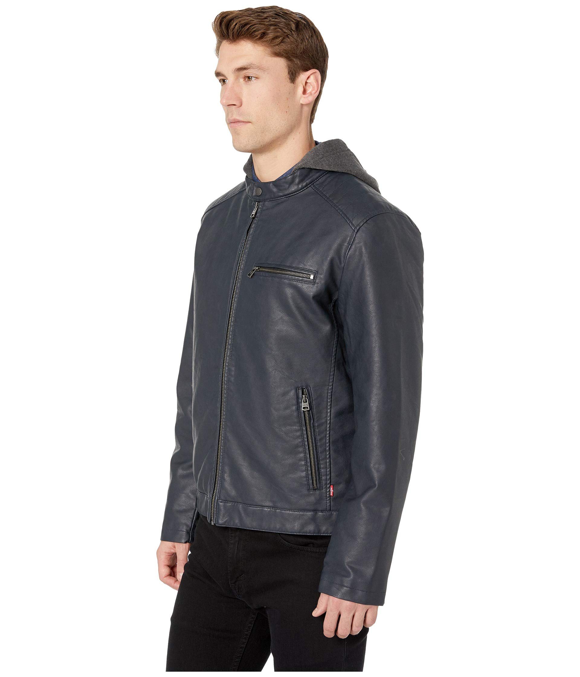 Shoulder Levi's® Quilted Racer Navy With F6qRnUt6
