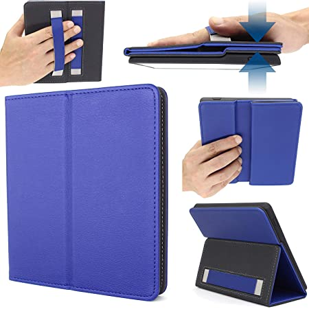E-Reader Case for 10th Generation-2019 and 9th Generation-2017 Released PU Leather Cover H01 – Blue