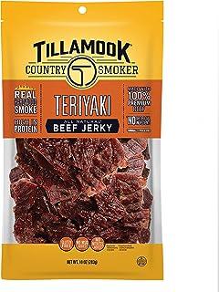 Tillamook Country Smoker All Natural Beef Jerky, Teriyaki 10-oz Bag