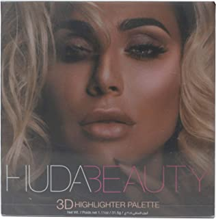 HUDA BEAUTY 3D Highlight Palette Pink Sands Edition