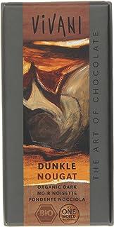 Vivani - Dunkle Nougat Chocolate Bar - 100g