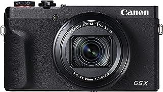 Canon PowerShot G5 X Mark II - Cámara Digital (20.1 MP Pantalla táctil LCD Plegable de 7.5 cm Pantalla abatible WLAN Zoom de 5X 4K CMOS) Negro