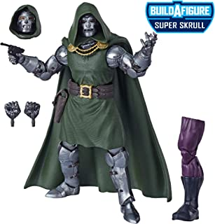 "Marvel Legends Series Fantastic Four 6"" Collectible Action Figure Doctor Doom Toy, Premium Design, 4 Accessories, 1 Build-A-Figure Part"