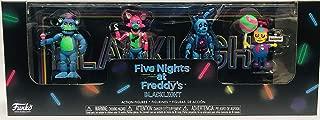 Five Nights at Freddy's Blacklight Action Figures Freddy Foxy Springtrap Balloon Boy