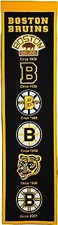Winning Streak Boston Bruins Logo Heritage Banner