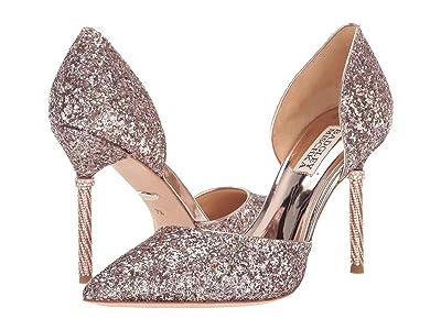 Badgley Mischka Ozara (Rose Gold) High Heels