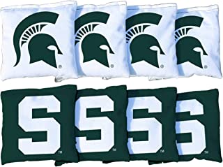 Victory Tailgate NCAA Collegiate Regulation Cornhole Game Bag Set (8 Bags Included, Corn-Filled) - 600+ Schools Available