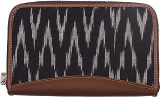 ZOUK Vegan Leather & Ikat Women's Handmade Wallet (WB01ZIZWB018)