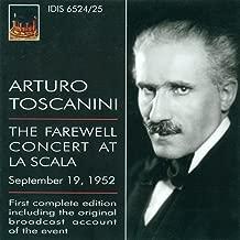 Wagner, R.: Overture To Die Meistersinger Von Nurnberg / Forest Murmurs / Siegfried Idyll (The Farewell Concert at La Scala) (Toscanini) (1952)