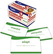 4th Grade Vocabulary Flashcards: 240 Flashcards for Improving Vocabulary Based on Sylvan's Proven Techniques for Success (Sylvan Language Arts Flashcards)