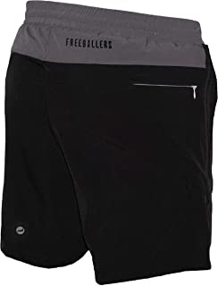"Meripex Apparel Men's Freeballer 8"" Athetic Gym Performance Sport Shorts – Perfect for Running, Weightlifting, and Yoga"