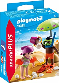 Playmobil Especiales Plus- Niños en la Playa, única (9085)