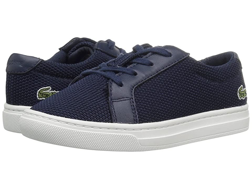 Lacoste Kids L.12.12 (Toddler/Little Kid) (Navy) Kids Shoes