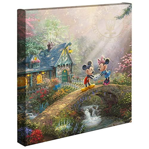 Thomas Kinkade The Light of Freedom 14 x 14 Gallery Wrapped Canvas
