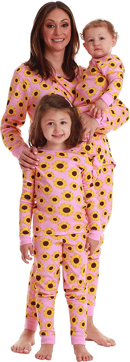 Just Love Mommy and Me - 100% Cotton Pajama Pant Set with Jogger Bottom – Women's & Girls
