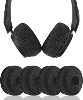 Geekria 2 Pairs Sweater Earpad Covers/Stretchable Knit Fabric Earcup Protectors/Fits 1.57-3.14 Inches Headphones, Compatib...
