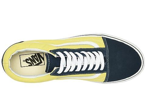 Green Canvas Sheen Vestido Suede Skool Blues Old Vans qUgF4