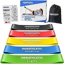 Panathletic Weerstandsbanden, Set van 5 Banden – 5 Verschillende Weerstandsniveau's, Handleiding met Oefeningen, eBook in ...