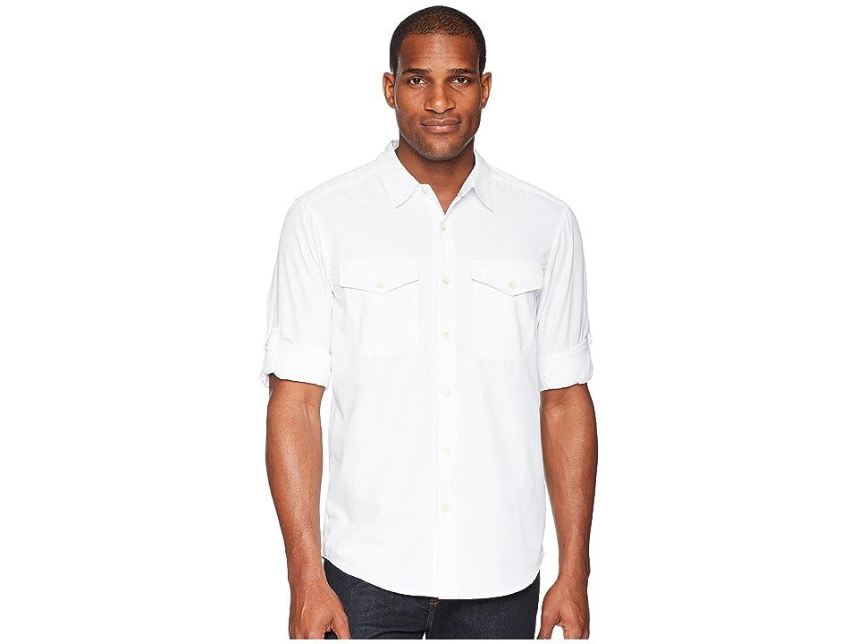 ExOfficio BugsAway(r) Briso Long Sleeve Shirt (White) Men