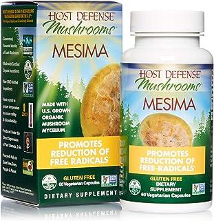 Host Defense, Mesima Capsules, Helps Reduce Free Radicals and Supports Immune Health, Mushroom Supplement, Vegan, Organic,...