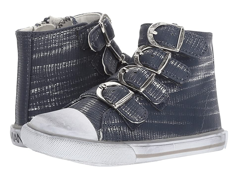 Amiana 15-A5172 (Toddler/Little Kid/Big Kid/Adult) (Navy Slash) Girls Shoes