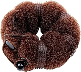 GoldRose 2 pcs Bun Maker Magic Hair Styling Tool (Brown)