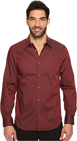 Luxe Performance Solid Twill Shirt