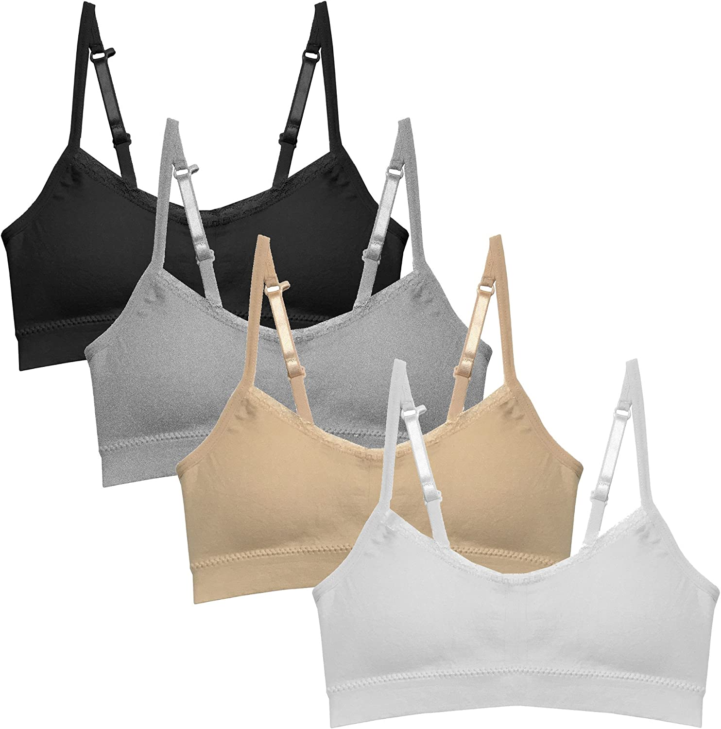 Popular Girl's Seamless Super Special service SALE held Cami Bra Value Padding Removable - with