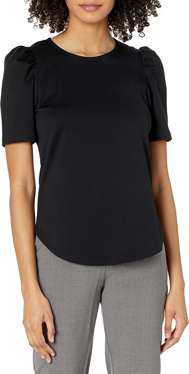 Theory favorite Women's Short Popular brand in the world Sleeve Ruched Tee