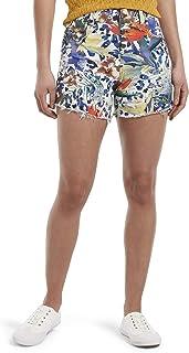 Hue Womens Ultra Soft Denim High Waist Shorts