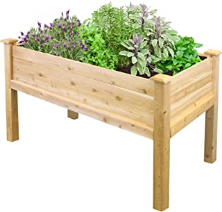 Greenes Fence RCEV2448 Fence Elevated Garden Bed, 48