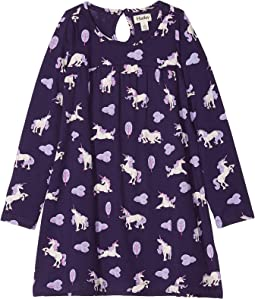 Majestic Unicorns Trapeze Dress (Toddler/Little Kids/Big Kids)