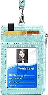 【CaserBay】Slim RFID Blocking Card Holder, Zip Pocket Wallet, Credit Card, Front Pocket Wallet With Removable Lanyard