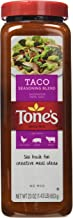 Tone's Spices Taco Seasoning Traditional Blend for Mexican Dishes