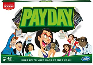 Hasbro Payday Niños y Adultos Simulación económica - Juego de Tablero (Simulación económica, Niños y Adultos, Niño/niña, 8 año(s), 100 Pieza(s))